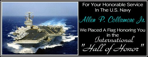 In memory of Allen P. Collamore, Jr.