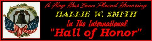 In Memory of Hallie W. Smith